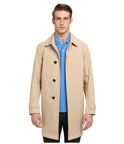 Bonded Trench Coat by Jack Spade in Spy