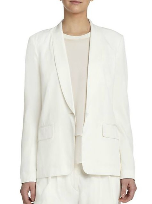 Natalie Tuxedo Blazer by Rag & Bone in The Second Best Exotic Marigold Hotel