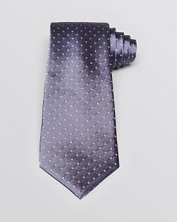 Flower Dot Classic Tie by John Varvatos in Lucy