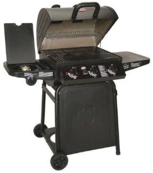Grillin' Pro Gas Grill by Char-Griller in Crazy, Stupid, Love.