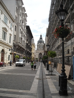 Budapest, Hungary by Zrínyi Utca in Spy