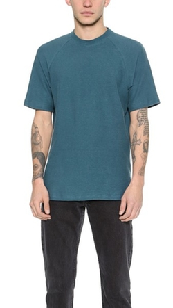 Loop Back Raglan T-Shirt by Fanmail in Everest