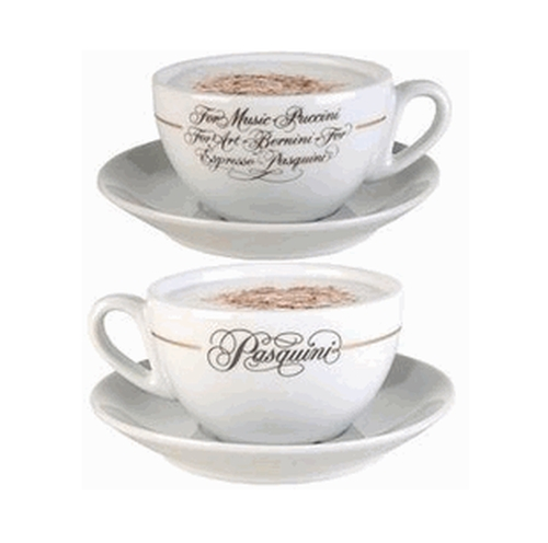 Logo Cup and Saucers by Pasquini  in Pretty Little Liars - Season 7 Episode 5