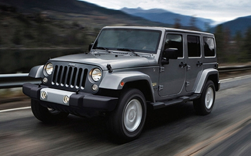 Wrangler Unlimited SUV by Jeep in Furious 7