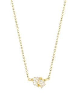 Mini Knot Pendant Necklace by Bloomingdale's in Suits