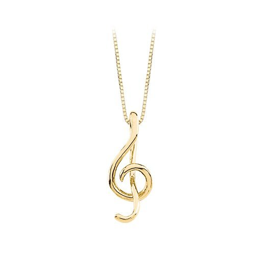 Clef Musical Note Necklace by Katarina in Pitch Perfect 2