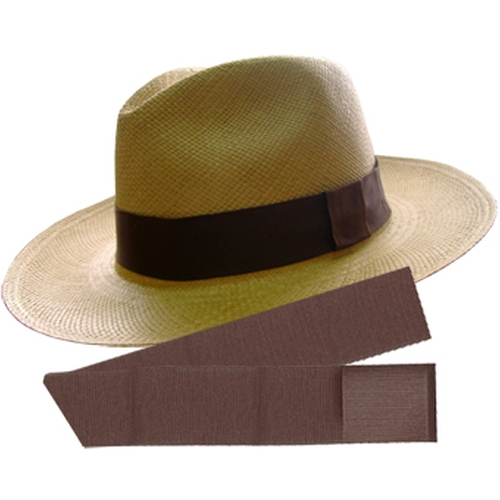 Cuenca (3-4) + Panama Standard Hat Band by Panama Hat in Pain & Gain