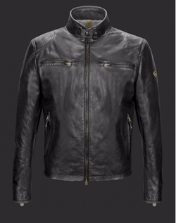 Osborne Blouson Leather Jacket by Matchless in The Night Manager