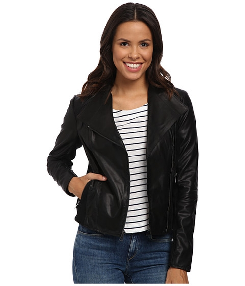 Felix Feather Leather Jacket by Marc New York By Andrew Marc in Rosewood - Season 1 Episode 10