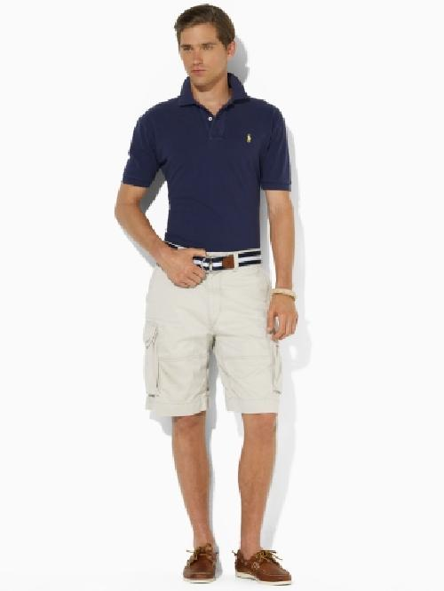 Gellar Classic Cargo Short by Polo Ralph Lauren in The Wolf of Wall Street