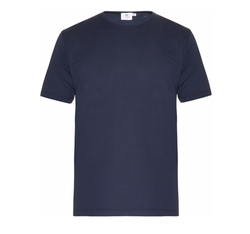 Crew-Neck Cotton-Jersey T-Shirt by Sunspel in Animal Kingdom