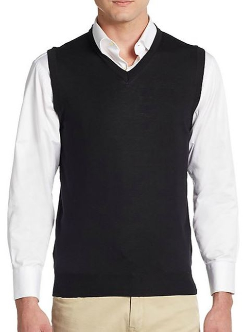 Merino Wool Sweater Vest by Saks Fifth Avenue in Batman v Superman: Dawn of Justice