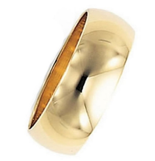 Heavy Wedding Band Ring by Oromi in The Martian