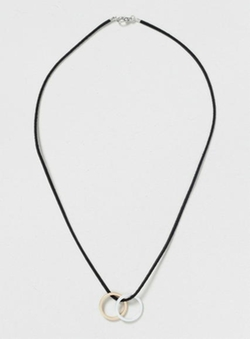 Ring Pendant Necklace by Topman in She's The Man
