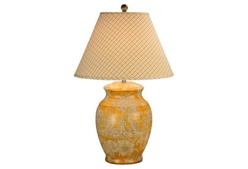Felicia Porcelain Table Lamp by One Kings Lane in Before I Wake