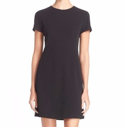 Jatinn K Short Sleeve Sheath Dress by Theory in Scandal