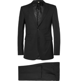 Slim-Fit Wool Suit by Burberry London in The Blacklist
