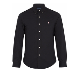 Slim-Fit Stretch-Cotton Shirt by Polo Ralph Lauren in Death Note