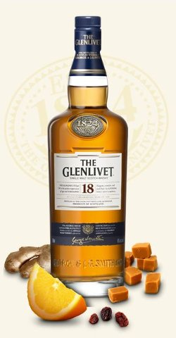18 Year Old Single Malt Scotch Whisky by The Glenlivet in John Wick
