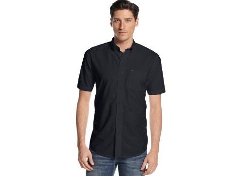 Short Sleeve Maxwell Shirt by Tommy Hilfiger in That Awkward Moment