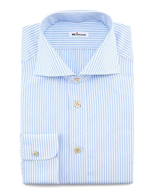 Striped Dress Shirt by Kiton	 in No Strings Attached