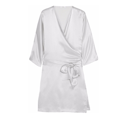 Como Silk Robe by Back Label in Notorious