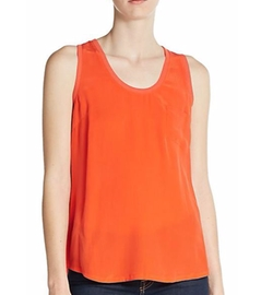 Alicia Silk Tank Top by Joie  in Chelsea