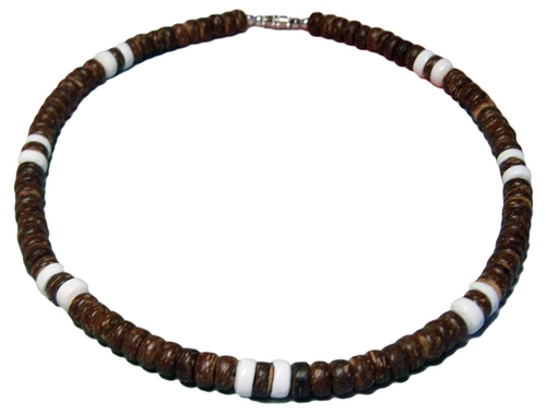 Puka Shell Necklace by Native Treasure in Cabin in the Woods