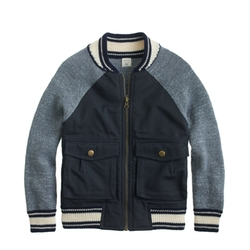 Cotton Twill Bomber Jacket by J.Crew in American Horror Story