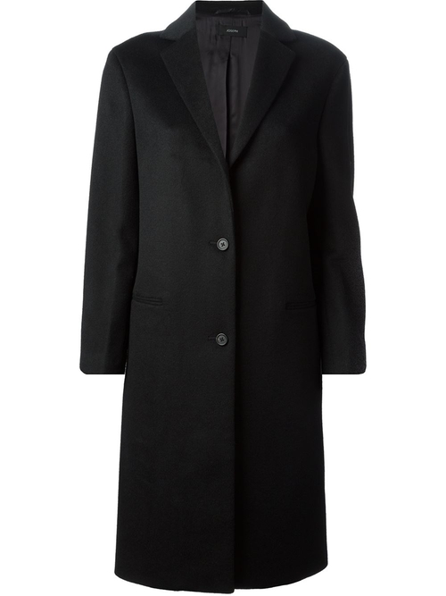 Wool-Cashmere Blend Trench Coat by Joseph in Love the Coopers