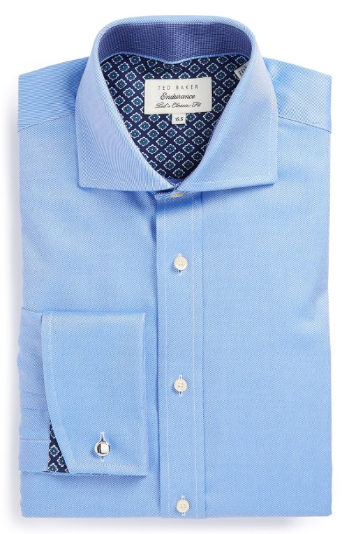 Extra Trim Fit Dress Shirt by Ted Baker London in Pitch Perfect 2