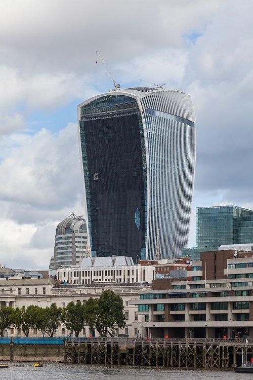 20 Fenchurch Street Building London, United Kingdom in The Gunman