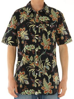 Perinial Black Button Up Shirt by Altamont in Entourage