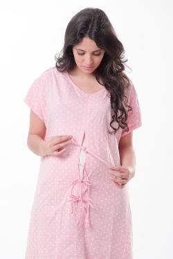 Gownies - Maternity Hospital Gown by Baby Be Mine in New Year's Eve