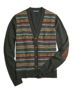 Fair Isle Cardigan by Brooks Brothers in If I Stay