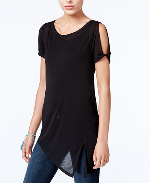 Asymmetrical Cold-Shoulder Top by Rachel Rachel Roy in How To Get Away With Murder - Season 3 Episode 1