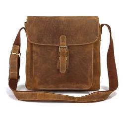 Leather Messenger Bag by VICENZO LEATHER BAG CO. in Dawn of the Planet of the Apes