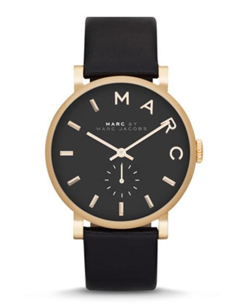 Baker Analog Watch with Leather Strap by MARC BY MARC JACOBS in This Is Where I Leave You