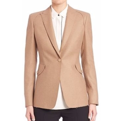 Raw-Edge Wool Blazer by Akris Punto in Lethal Weapon