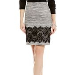 Ellen Tweed & Lace Pencil Skirt by Antonio Melani in Pitch Perfect 3