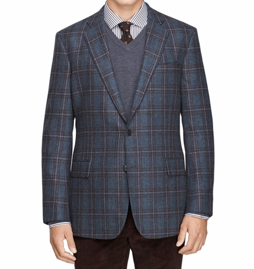 Regent Fit Plaid Sport Coat by Brooks Brothers in Empire - Season 2 Episode 11