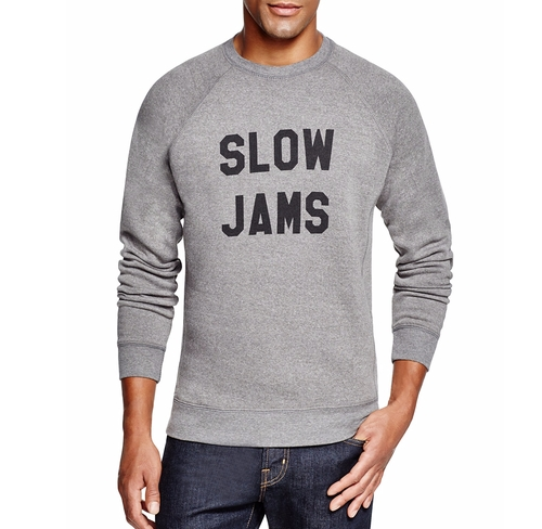 Slow Jams Graphic Sweatshirt by Sub_Urban Riot in New Girl - Season 5 Episode 10