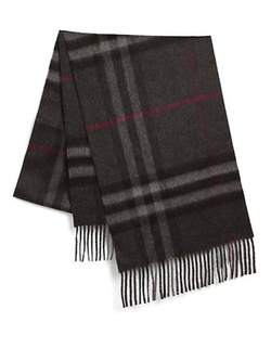 Giant Icon Cashmere Scarf by Burberry in Bridge of Spies