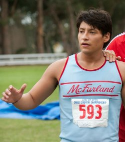 Custom Made McFarland Running Tank Top (Thomas) by Sophie De Rakoff (Costume Designer) in McFarland, USA