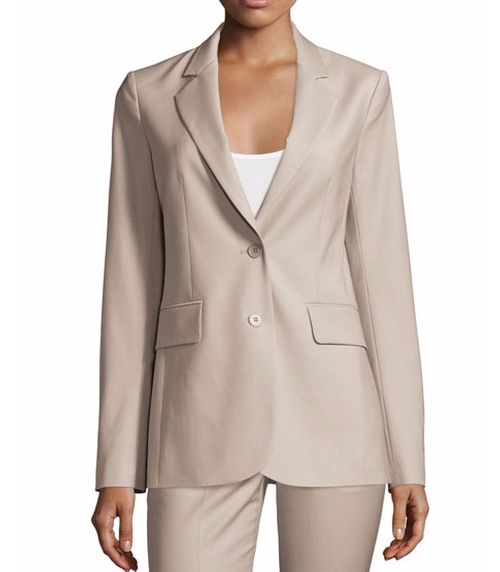 Aaren Continuous Wool-Blend Jacket by Theory in How To Get Away With Murder - Season 3 Episode 3