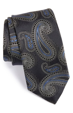 'Cooks' Paisley Silk Tie by John W. Nordstrom in The Man from U.N.C.L.E.