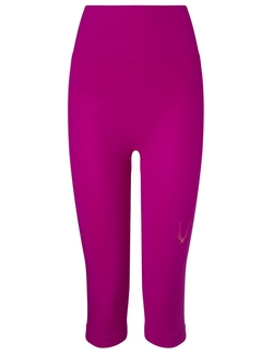 Violet Technical Knit Capri Leggings by Lucas Hugh in Ballers