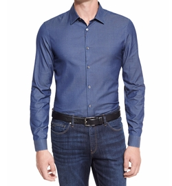 Italian-Woven Sport Shirt by Michael Kors in Lethal Weapon