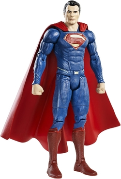 Dawn of Justice Superman Figure by Mattel in Batman v Superman: Dawn of Justice