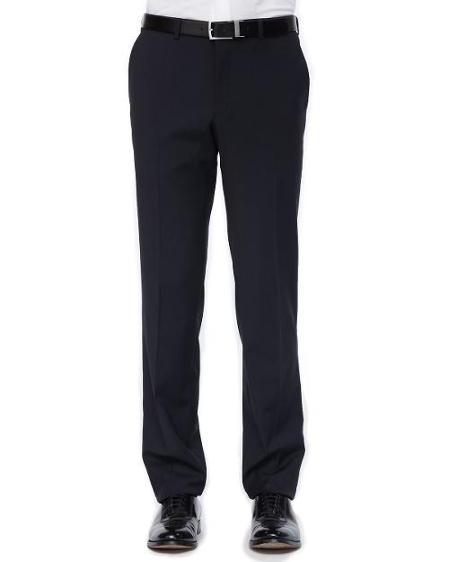 Side-Stripe Tuxedo Trousers, Black by Versace Collection in Get On Up